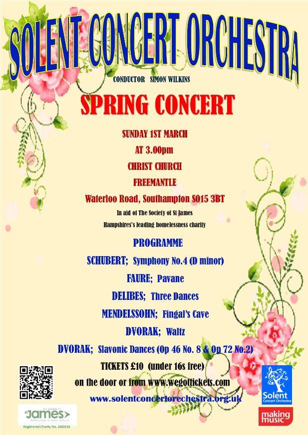 SCO Spring Concert