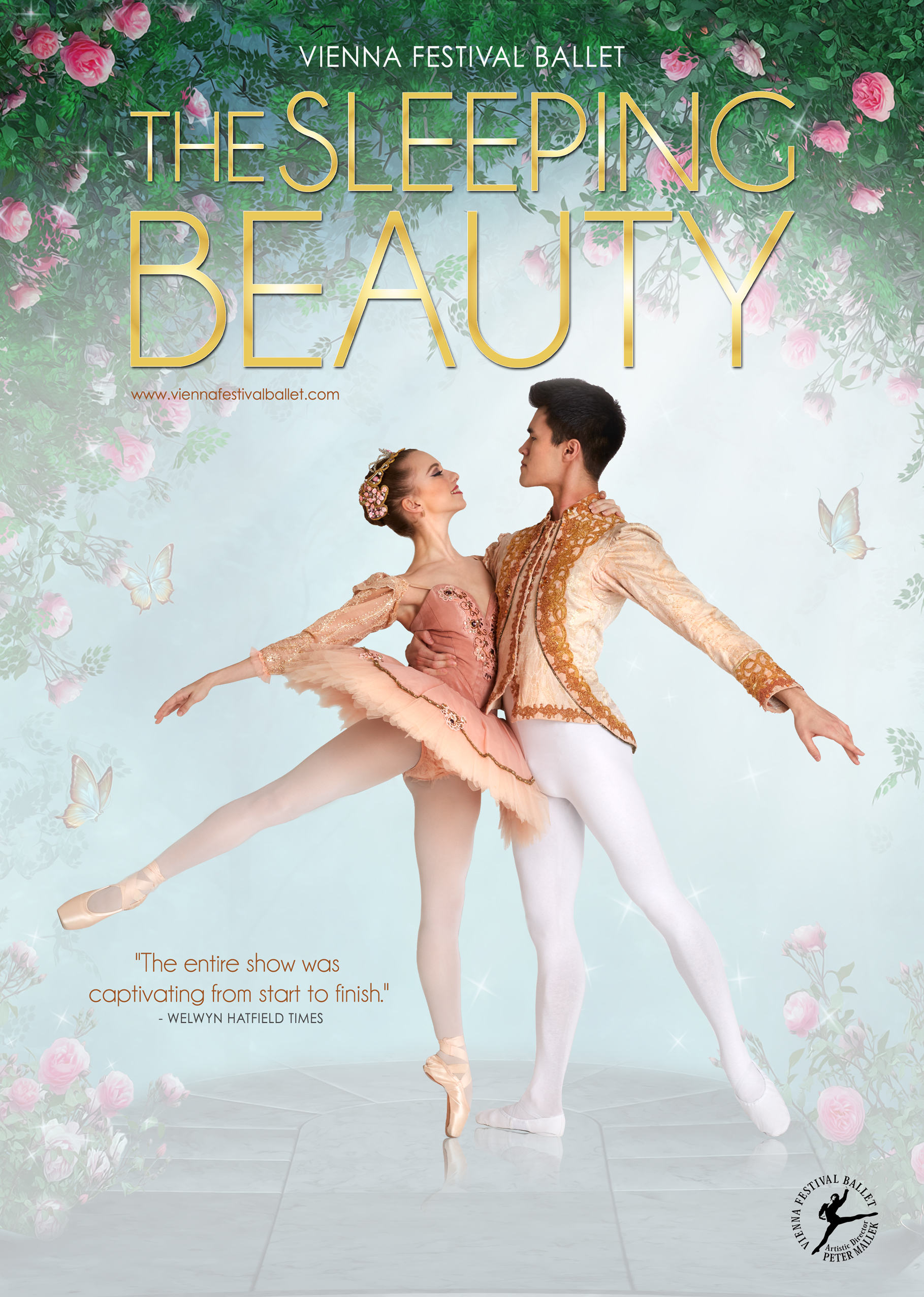 Vienna Festival Ballet Sleeping Beauty Poster