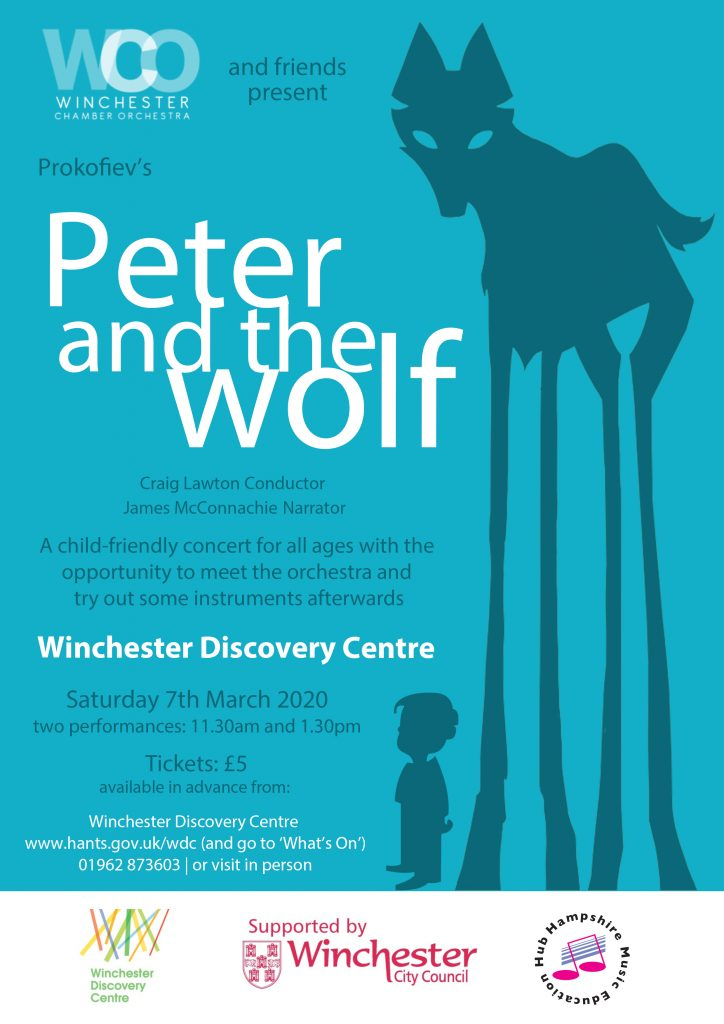 WCO - Peter and the Wolf March 2020