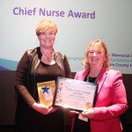 2 - Libby Matthews (L) and chief nurse Julie Dawes (R)