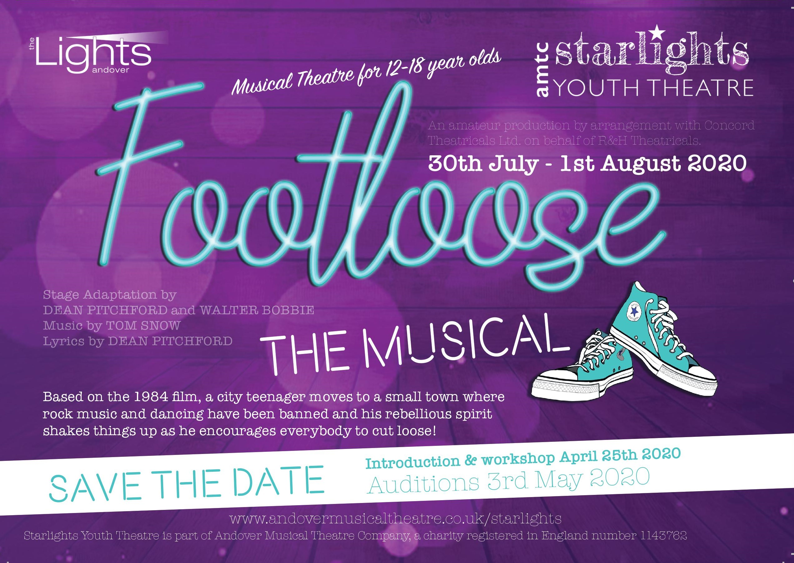 Footloose Workshop Poster
