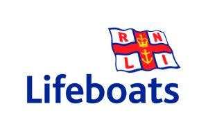 RNLI Lifeboats flag & logo