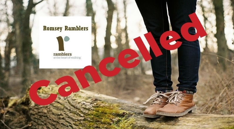 RomseyRamblers Cancelled