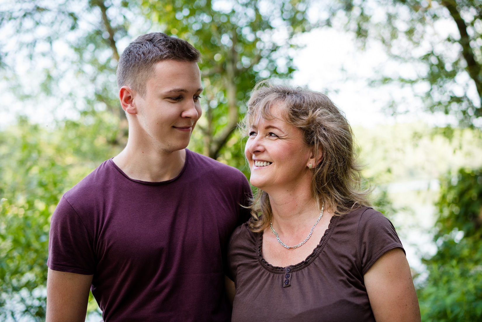 Foster Carer and Teenager