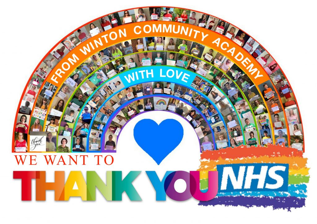 NHS Thank you Poster