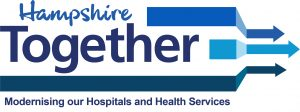 Hampshire Together Modernising our Hospitals and Health Services logo