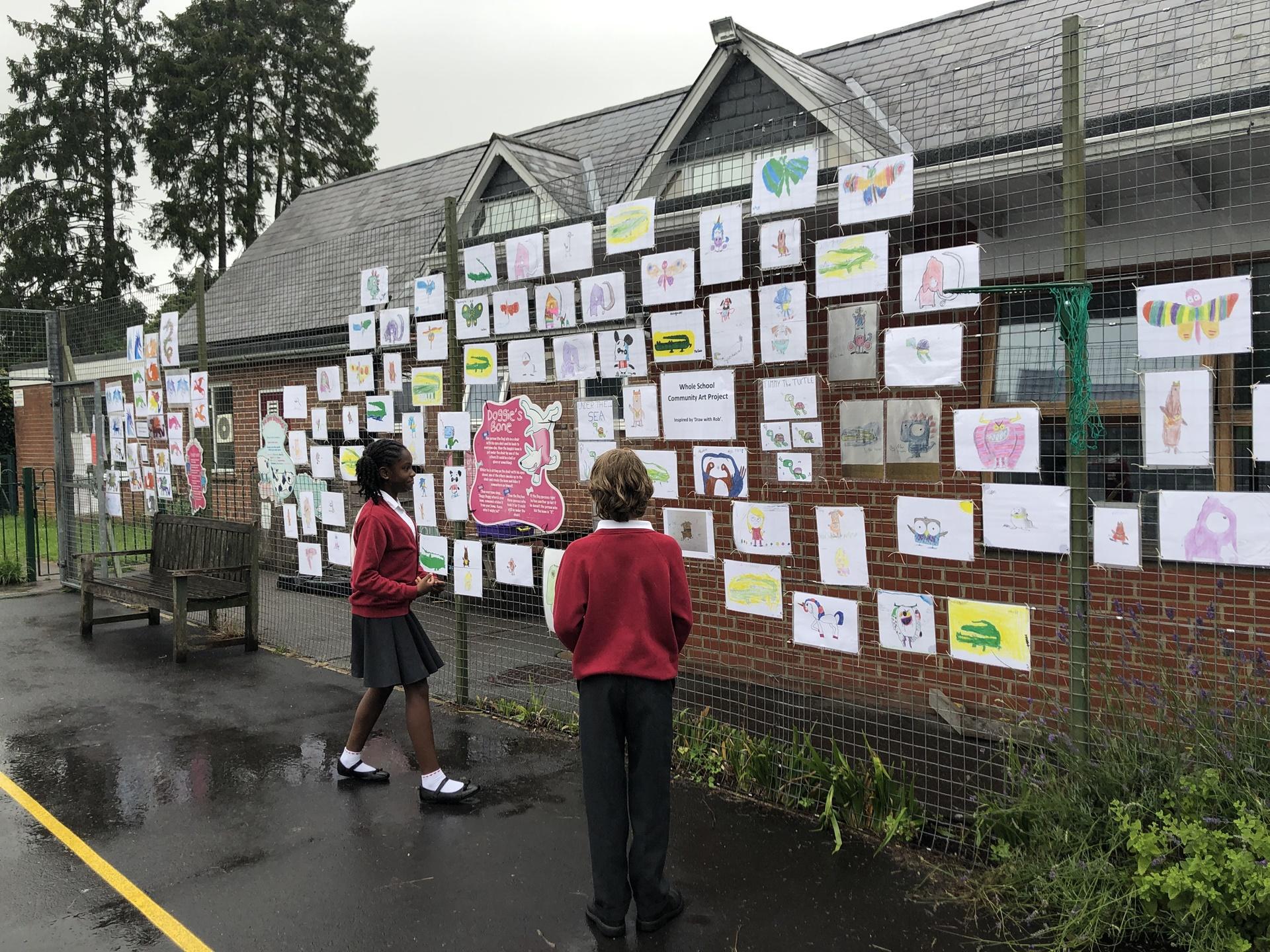 Hurstbourne Tarrant Primary School Art