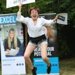 Beth Langley Celebrating Her Results