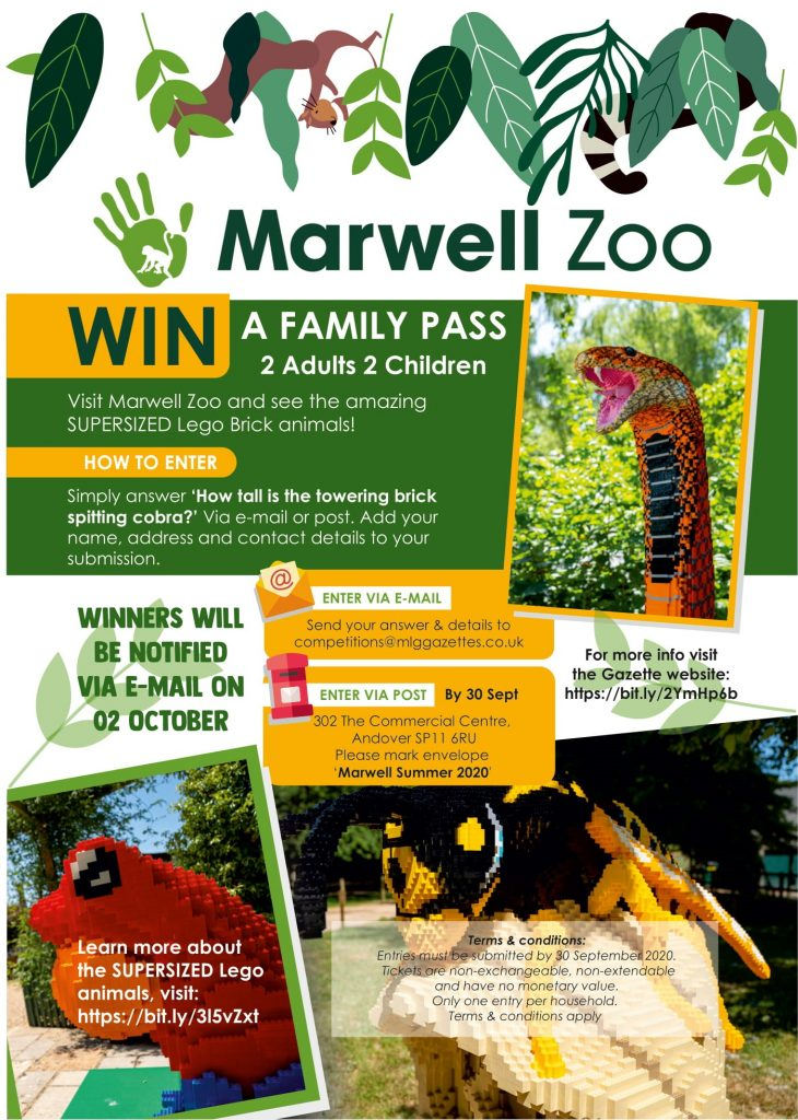 Marwell Zoo Sept Competition