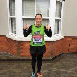 Carey Ballard Enham Trust Marathon Runner