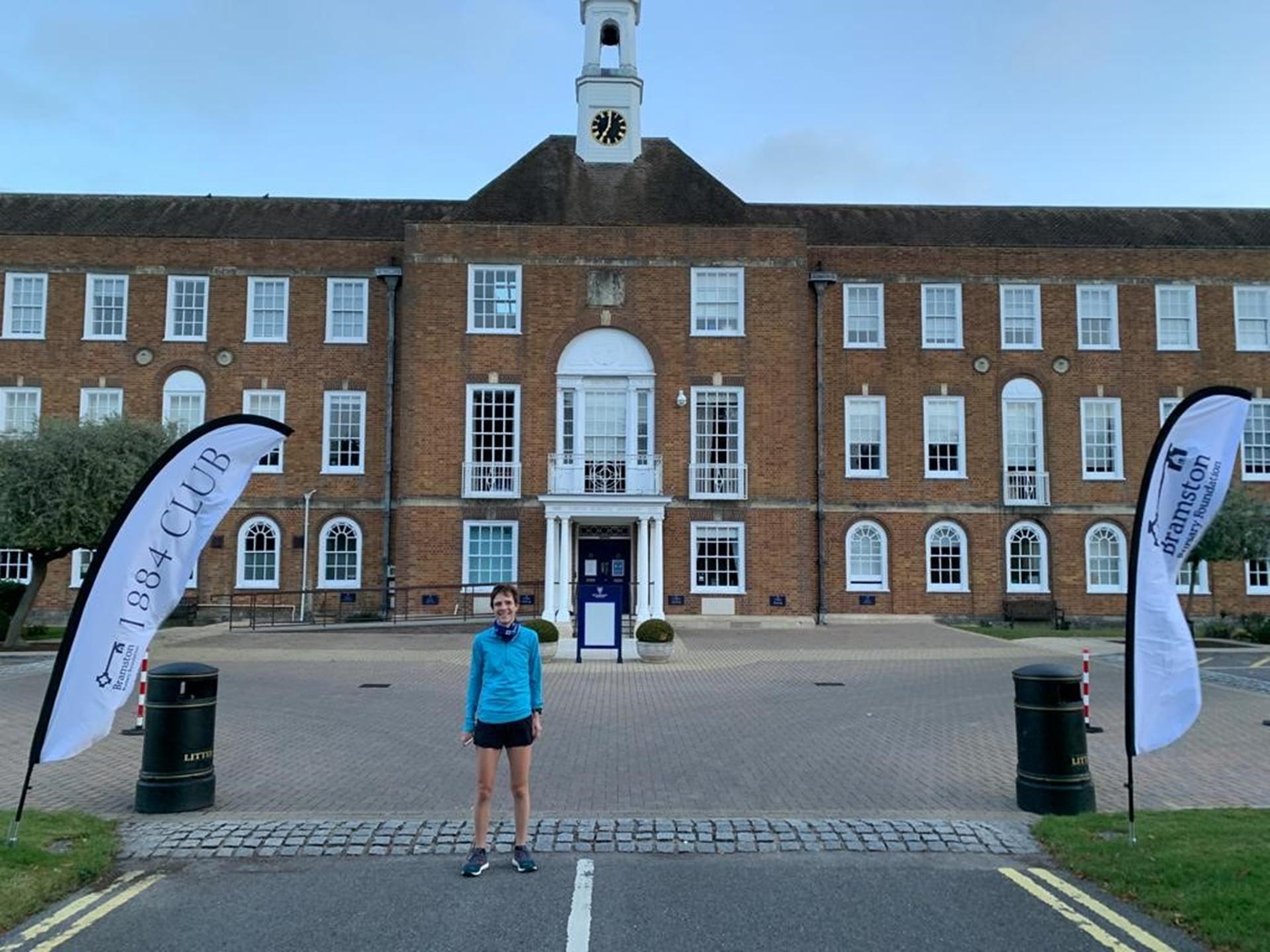 Jane Gandee St Swithun's Challenge