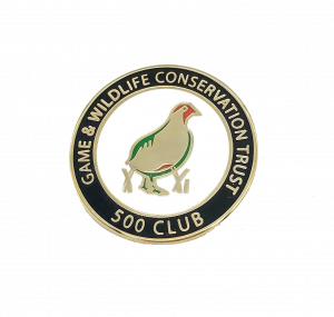 500 Club badge