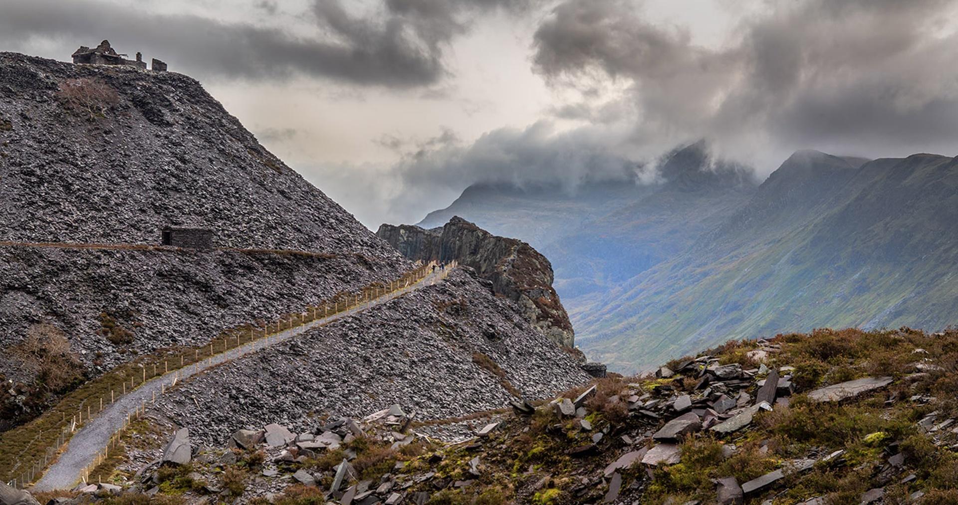 Slate Quarry Path by Terry Jamieson – winner