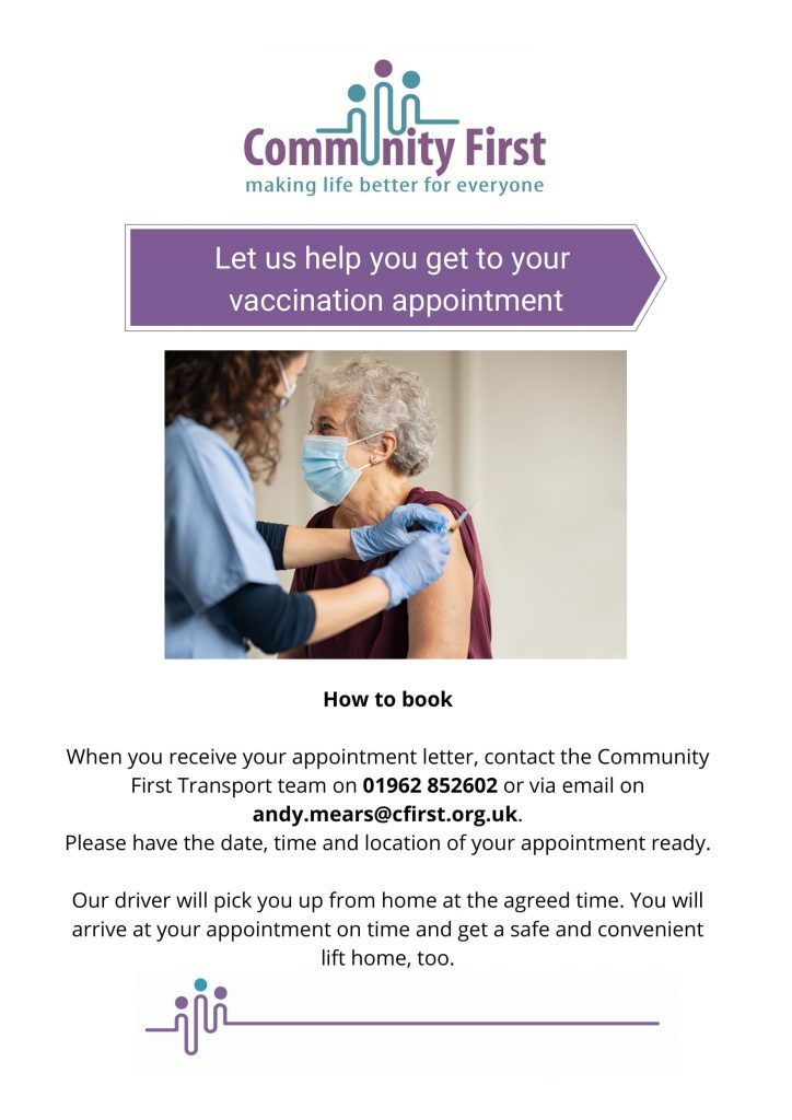 Winchester - Community Transport to COVID Vaccination Appointments-1